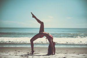 Being Flexible on the Beach