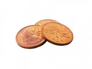 Tipping with Pennies in Saskatchewan