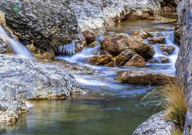 Kiwanis Waterfall Park in Regina, Saskatchewan