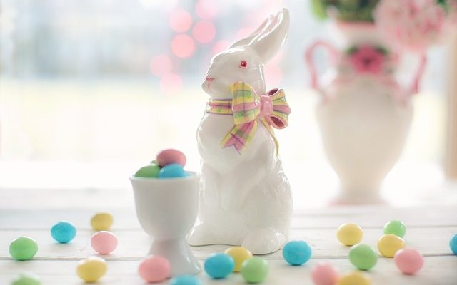 Easter Bunny and Candies